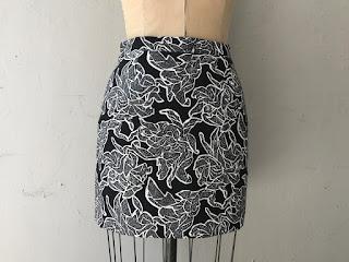 Balenciaga Black & White Skirt