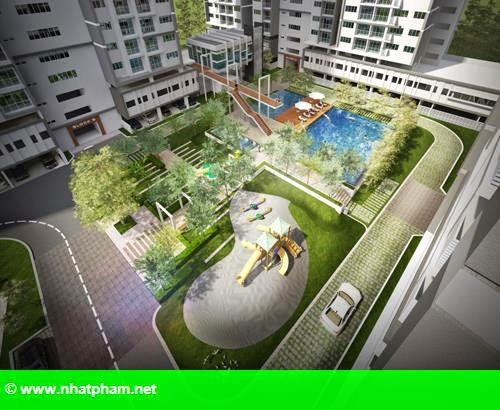 Hình 2: Ra mắt căn hộ tòa tháp Sky Residences tại dự án EcoXuân