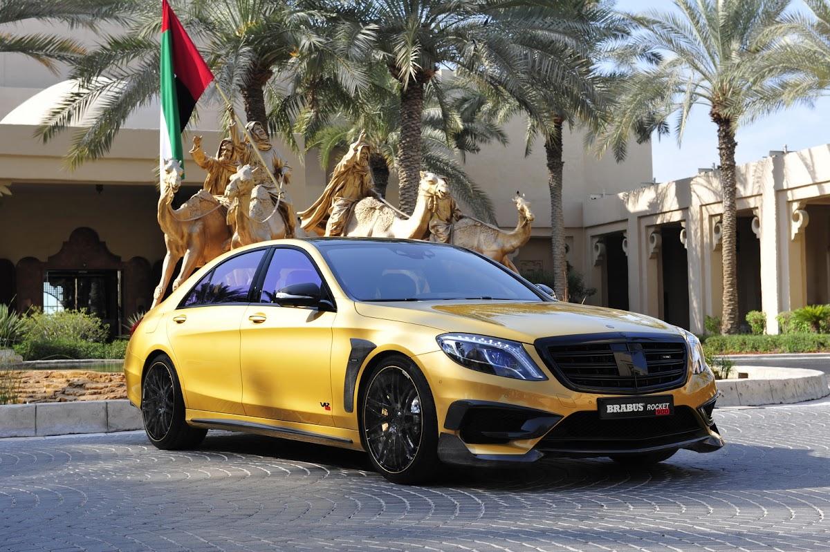 Brabus Rocket 900 Desert Gold Edition debuts at Dubai ...