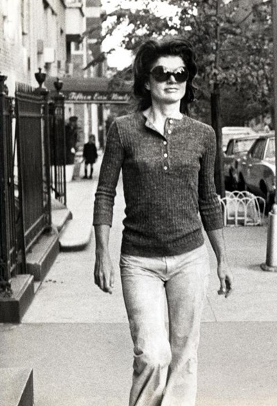 jackie O sunglasses casual