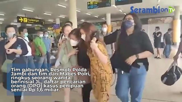 Tim gabungan, Resmob Polda dan tim dari Mabes Polri, ringkus wanita (DPO) penipuan senilai Rp 1,6 miliar