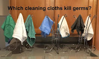 Which cleaning cloths kill germs? (Do Norwex cloths kill germs?)
