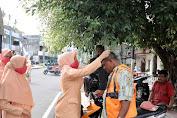 DWP Kota Sabang Bagikan Masker kepada Masyarakat