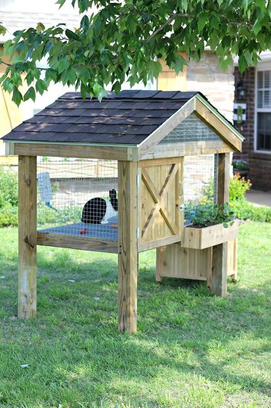 bunny hutch DIY