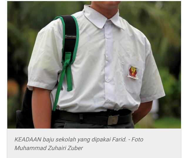 Pakaian Sekolah Selama 4 Tahun Tidak Ditukar