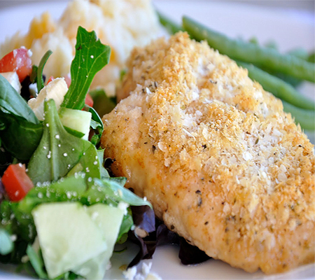 Crispy Herb Baked Chicken Recipes