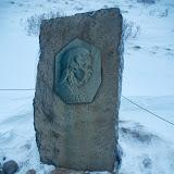 Sigridur Tomasdottir - en af de første guider til Gullfoss
