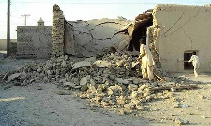 بلوچستان میں شدید زلزلہ، 20 افرادجاں بحق اور متعدد زخمی