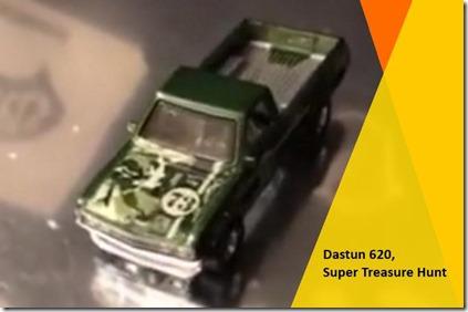 Dastun 620 Hot Wheels Super Treasure Hunt 2018