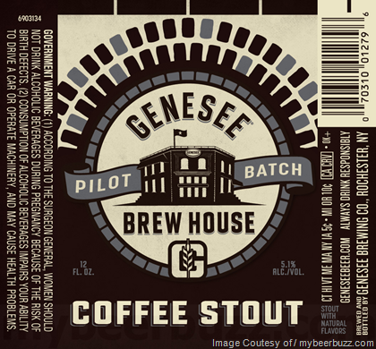Genesee Pilot Batch Coffee Stout
