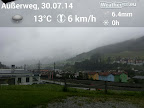 Regnerisch und kühl ist es dagegen in Tirol. #Wetter #Tirol #Regen