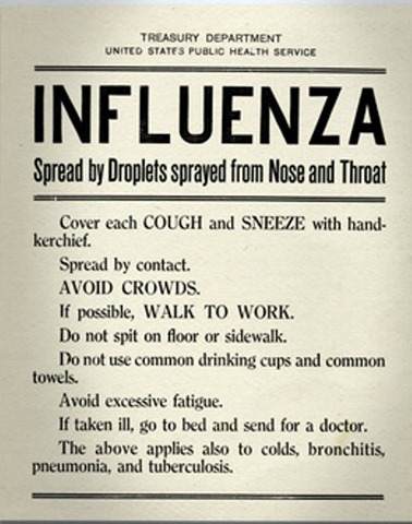 influena sign how to prevent