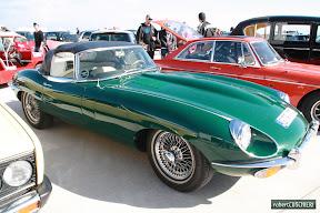 British Green Jaguar E-Type