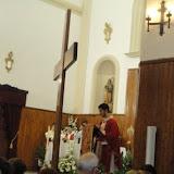 Cruz de la JMJ en Alhama, Cádiar y Loja