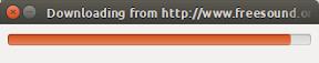 Descargar todos los archivos de una web con FileDownloader - Progreso