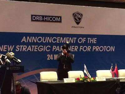 DRB-Hicom telah mencapai persetujuan dengan Geely