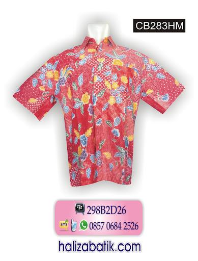 CB283HM Contoh Baju Batik, Baju Batik Online, Online Batik, CB283HM