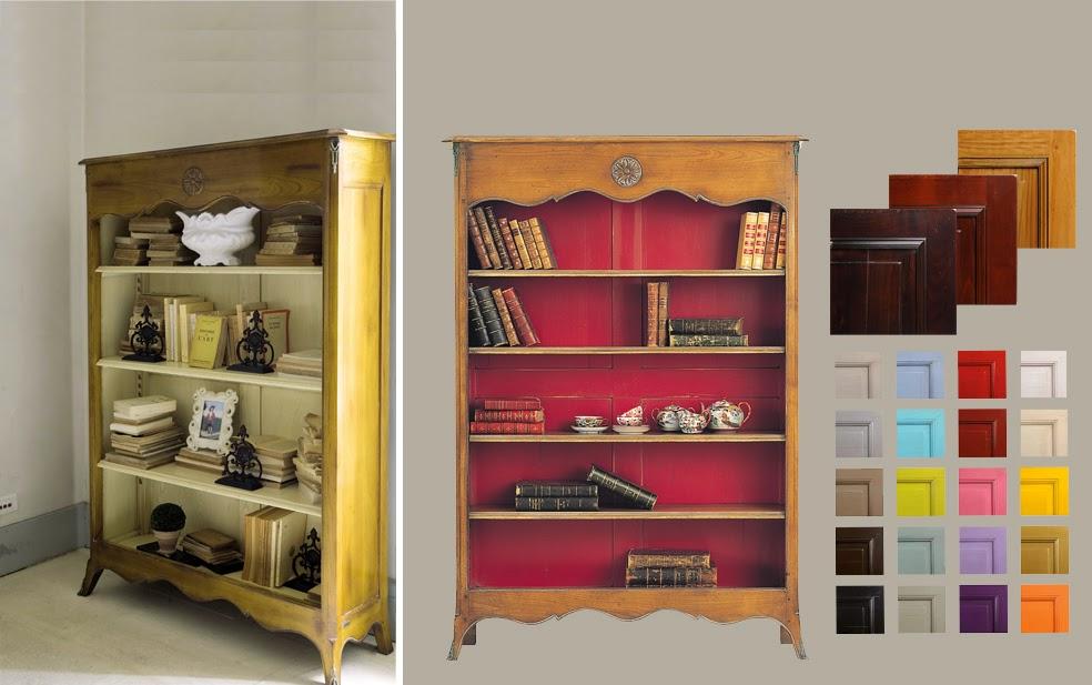 Bookcase Pompadour