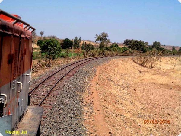 Kosamba Umarpada Narrow Gauge Railway Line