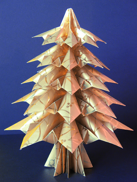 Origami foto Abete 3 - Fir tree 3 by Francesco Guarnieri