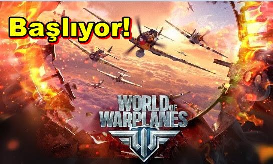 World of Warplanes Başlıyor!