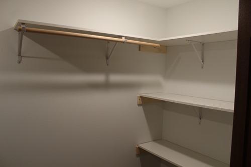 Closet downstairs