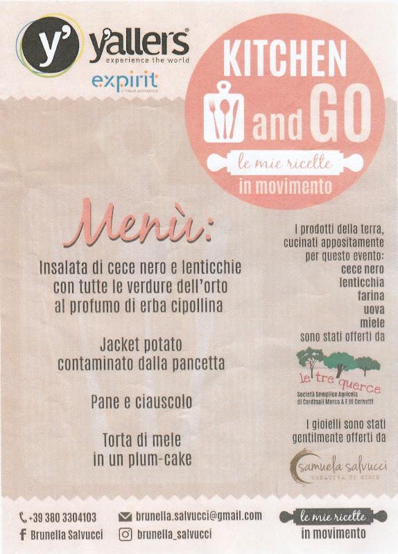menu Portonovo open day con Yallers Marche 23-09-18