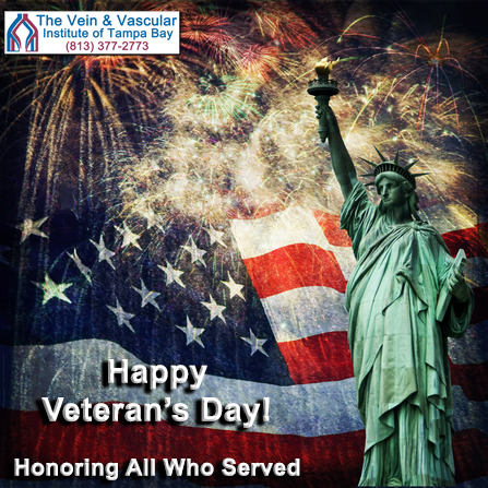 Happy Veteran's Day to all who have served and defended our freedom...we honor you!  #HappyVeteransDay...
