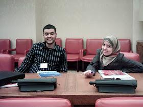 Construyendo Comunidaes con Futuro. Abdelaziz Hammaoui y Gemma Ballesteros.
