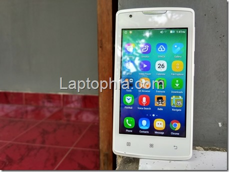 Unboxing Lenovo A1000 Android Lollipop Murah