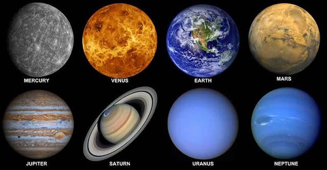 كواكب - المجموعة - الشمسية