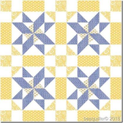 pinwheel 33x33 moda harmony