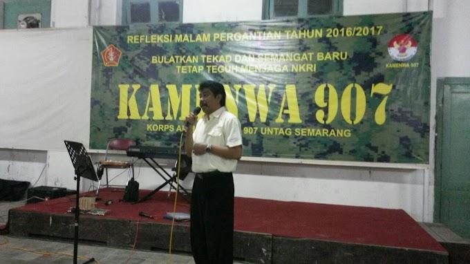 Raker Dan Pelantikan Pengukuhan KAMENWA 907 UNTAG Semarang