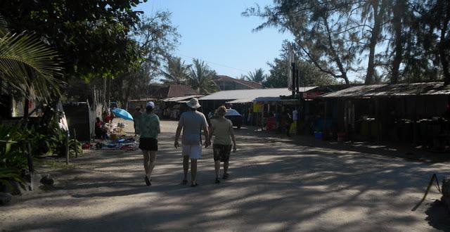 Shopping for dinner in the market