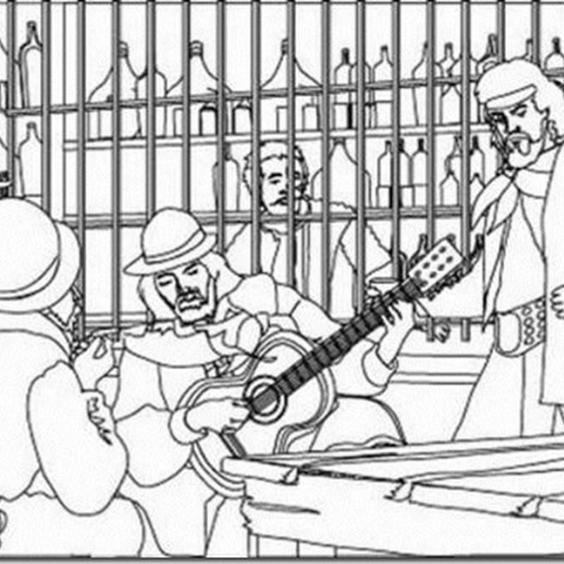 Dibujos 10 de Noviembre  Día de la Tradición Argentina