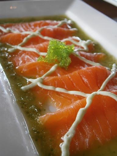 Salmon Carpaccio - RatedRalph.com