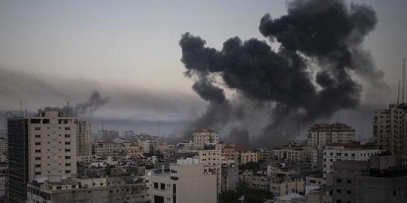 Gaza Dibombardir Jelang Idulfitri, 65 Warga Palestina Tewas