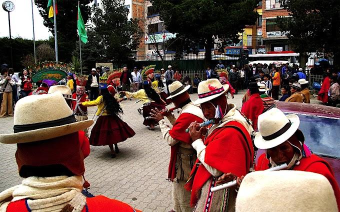 Música autóctona en la alcaldía El Alto