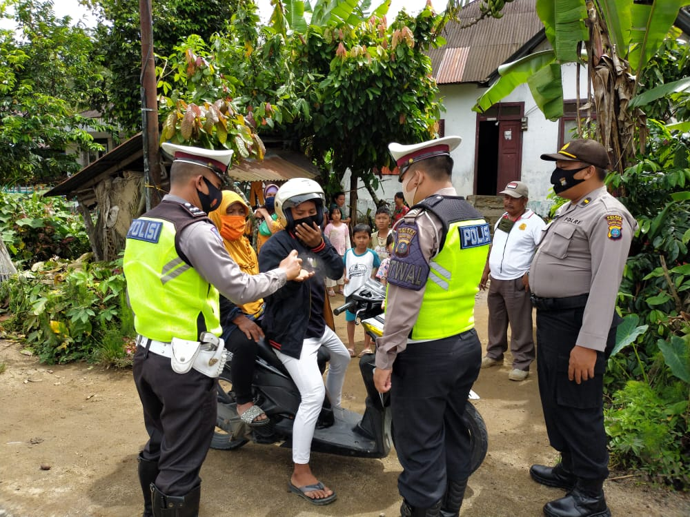 117 Pelanggar Protokol Kesehatan Terjaring Saat Operasi Yustisi Polres Tapsel