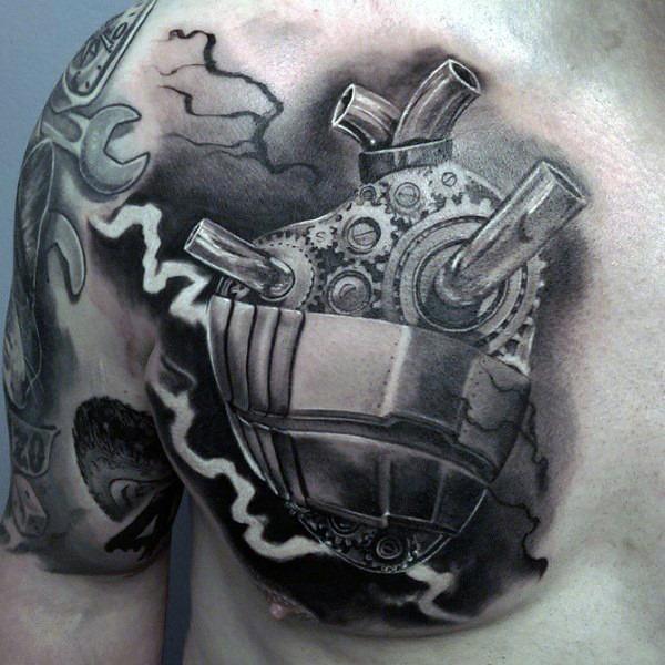 mecnica_coraço_tatuagem_no_peito