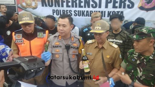 7 Anggota Genk Motor XTC Sukabumi Diringkus Polisi