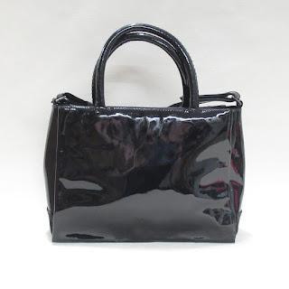 M Missoni Patent Leather Shoulder Bag