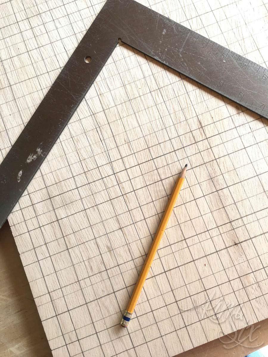 Adding cross stitch grid to board