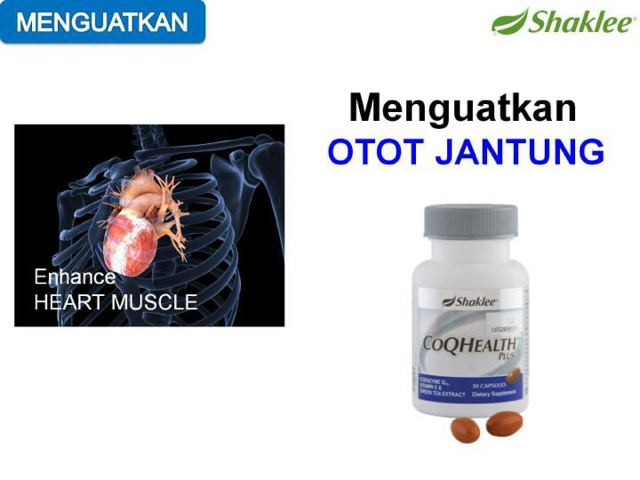 Coq10 Vitamin Kuatkan Jantung Anda