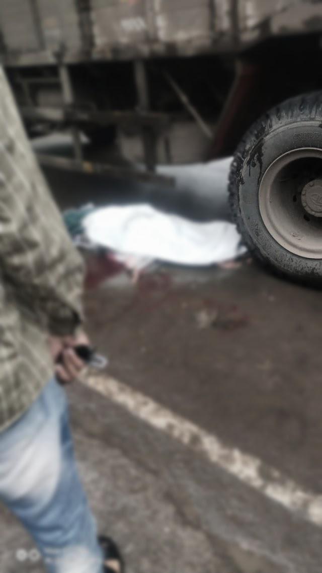 موتی باغ ناکہ پر شیخ پرویز شیخ عبدالرحمن 24 سال ساکن کمالپورہ مالیگاؤں کی ٹرک کی زد میں آکر  55 سالہ خاتون کی موت ، ٹرک ڈرائیور گرفتار
