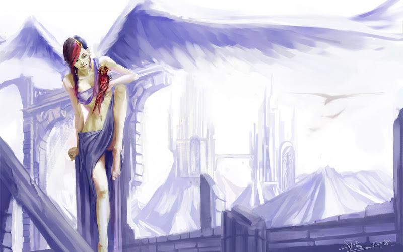 Angel In Blue Field, Angels 3