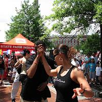 Renate Dugans, Jay Evans. Centennial Olympic Park Atlanta. Fiesta Atlanta.