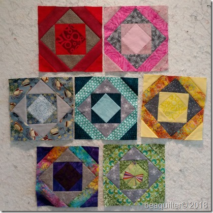 mosaic rainbow blocks