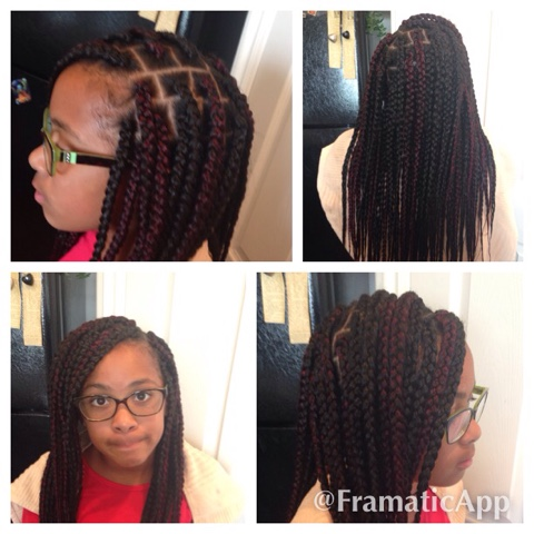 Cornrows Braids Extensions August 2015