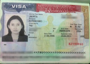 The Traveling Cow: US Trip : US Visa Approved !